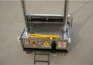 Automatic Wall Rendering Machine/ Plaster Machine for Wall pictures & photos