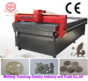 Cheap CNC Plasma Cutting Machine for Metal Engraving pictures & photos