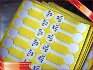 Adhesive Barcode Label Sticker Waterproof Promotional Sticker Barcode Sticker pictures & photos