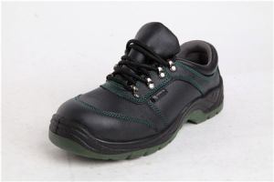 Worker Protective Footwear PU Leather Safety Shoes