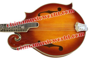 Hot! Solid Spruce Top / Afanti Mandolin (AM-F80) pictures & photos