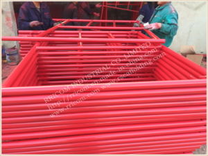 Powder Coated USA Standard Mason Frame Scaffolding pictures & photos