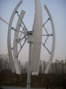 20kw Vertical Axis Wind Turbine/Wind Generator System pictures & photos