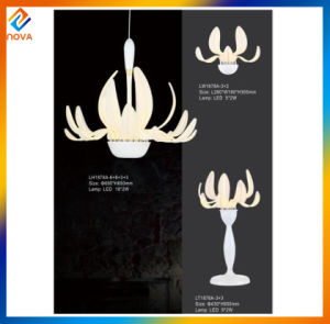 Modern Simple Style Hotel Modern Metal Lampshade LED Table Lamp pictures & photos