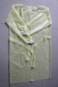 Disposble 115*137cm PP+PE Surgical Gown