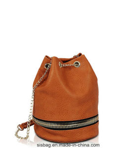 New Fashion Zipper Bucket Bag for Women pictures & photos