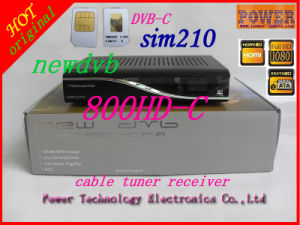 SIM2.10 Newdvb 800 HD Cable Receiver