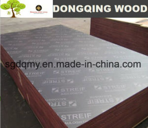 18mm Hardwood Core Concrete Formwork Film Faced Plywood pictures & photos
