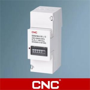 Dds226D-2p Single Phase DIN-Rail Watt-Hour Meter pictures & photos