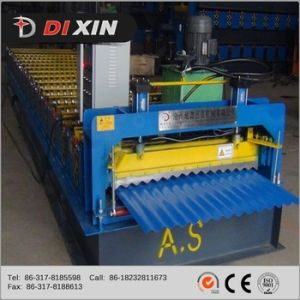 Automatic Corrugated Sheet Pasting Machine Color Steel Wall Panel Cold Roll Forming Machines pictures & photos