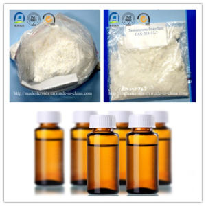 Hormones Testosterone Enanthate White Crystalline Powder Steroid Test E for Muscle Building pictures & photos
