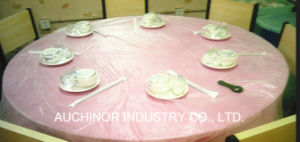 Custom Wholesale Pricing Disposable Sublimation Printing Cloth Table Covers pictures & photos