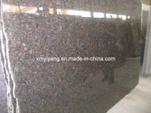 Tan Brown Granite Slab (Tiles, Countertop, Wall Cladding) pictures & photos