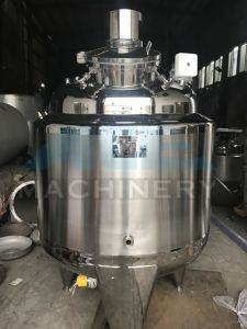 500L Sanitary Electric Heating Mixing Tank (ACE-JBG-500) pictures & photos