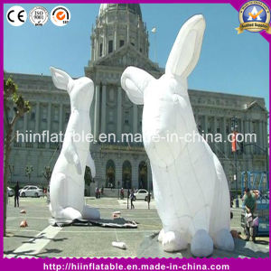 Hot Event Holiday Decoration Inflatable Mascot Rabbit Cartoon