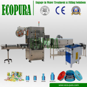 Automatic PVC Label Shrink Sleeve Labeling Machine pictures & photos