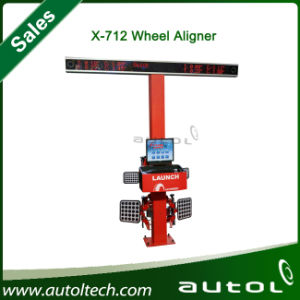 X-712 Launch Multilingual 3D Wheel Aligner/CE Certificate pictures & photos