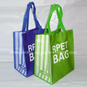 Promotion Reusable Bags Good Quality Eco Friendly R-Pet Recycled Bag pictures & photos