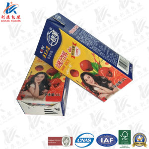 1L Aseptic Brick Carton Used on Milk and Juice pictures & photos