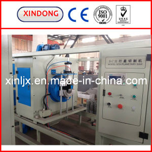 Planetary PE PP PVC Plastic Pipe Cutting Machine pictures & photos