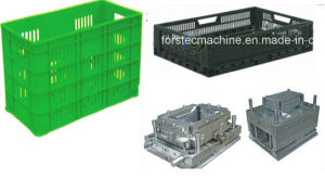 Single Cavity Plastic Basket Mould/ Plastic Injection Basket Mold pictures & photos