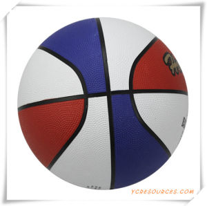 Laminated Rubber Basketball for Promotion (OS24001) pictures & photos