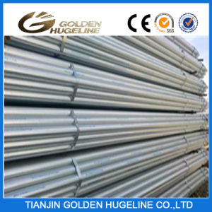 ERW Steel Black Welded Pipe & Hot Galvanized Welded Pipe pictures & photos