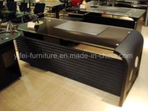2017 China Modern Style 1.8m Glass Office Desk