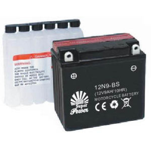 Mf Motorcycle Battery 12V 9ah with CE UL Certificate pictures & photos