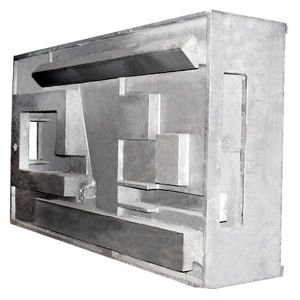 Iron Casting Column Parts for Machinery Bed