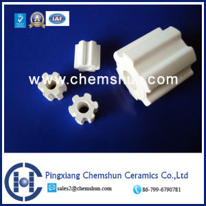 Ceramic Random Packing High Alumina Fluted Ring (Alumina Ring Al2O3: 99%) pictures & photos