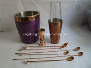 New Design Stainless Steel Wine Ice Bucket Copper Bucket pictures & photos