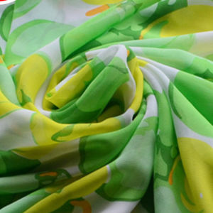 100% Polyester Chiffon Women Fabrics pictures & photos