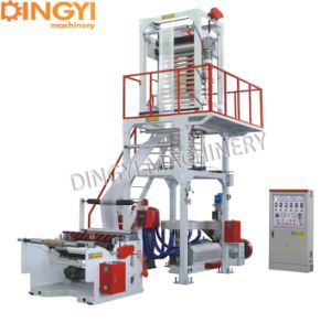 HDPE Film Blowing Machine with Semi-Automatic Winder pictures & photos