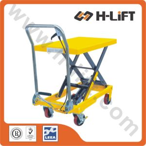 European Type Hydraulic Scissor Lift Table pictures & photos