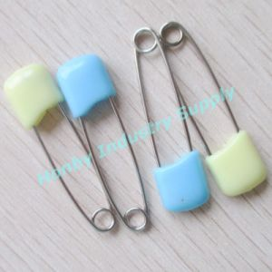 Hot Selling 40mm Couple Colors Stainless Steel Baby Diaper Safety Pins