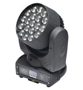 19X12W Quad LED Moving Head Light, Aura Zoom Wash for Disco, DJ, KTV, Event Club, Stage Lighting pictures & photos