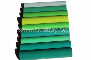 a Variety of Green, PVC Coated Tarpualins 1000d 20X20