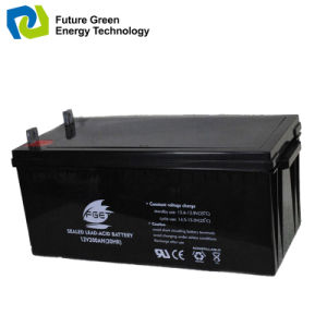 12V200ah DC Power Supply Sealed VRLA Backup UPS Battery pictures & photos
