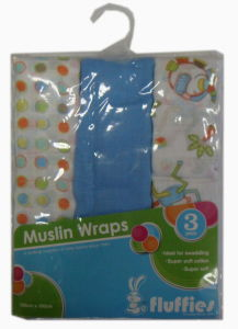 Baby Muslin Wraps pictures & photos