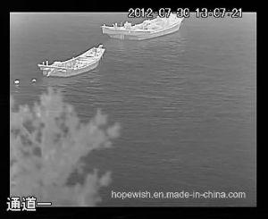 Handheld Infrared Thermal Surveillance Binocular Camera with 5km Lrf GPS pictures & photos