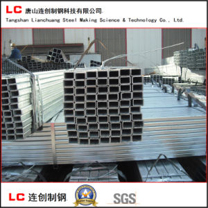 60X40mm Carbon Steel Hot Dipped Galvanized Rectangular Pipe pictures & photos