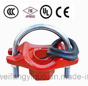 FM/UL Certificate Pipe Fittings Ductile Iron U-Bolted Mechanical Tee for Fire Fighting pictures & photos