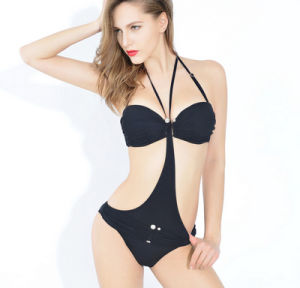 Factory Latest Bikini 3 Sets Hot Springs Good Quality Women′s Swimwear pictures & photos