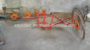Finger Plate Disc Rotary Rake pictures & photos