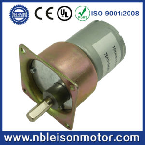 12V Electric Motors with 37mm Gearbox pictures & photos