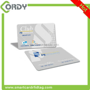 HF 13.56MHz RFID printable PVC chip smart card MIFARE Classic 1k card pictures & photos