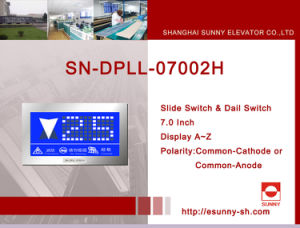 Display LCD for Elevator (SN-DPLL-07002H) pictures & photos