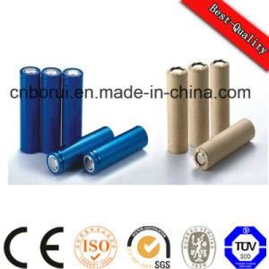 3.7V 2000mAh Br18650 Rechargeable Li-ion Column Battery Ce&SGS Approval pictures & photos