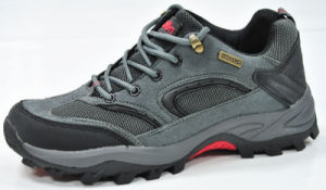 Outdoor Men Climbing Anti-Skidding Leather Hiking Shoes